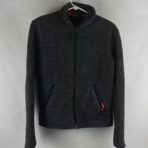 Abercrombie & Fitch Outerwear Grey Fleece Adult S